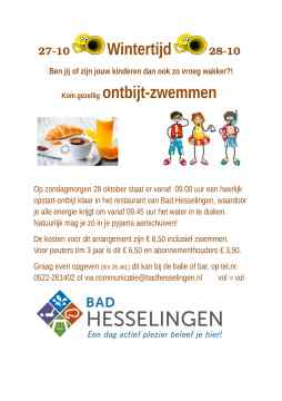 affiche-aankondiging-ontbijt-zwemmen_Bad-Hesselingen-Meppel_CT