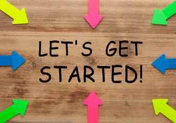 start begin
